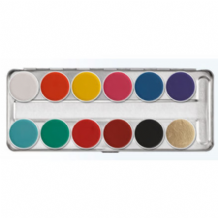 Kryolan Aquacolour Face Painting Palette